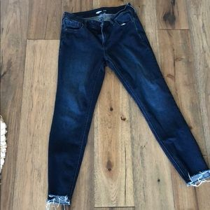 Old Navy Rockstar Super Skinny Ankle Jean